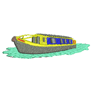 Narrow boat embroidery designs youtube
